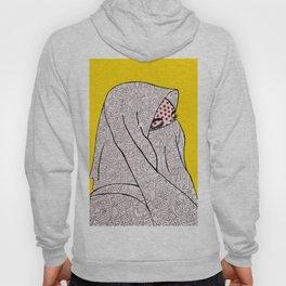 Roy Lichtenstein Meets the Arabic Woman Hoody