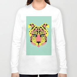 Modular Cheetah Long Sleeve T-shirt