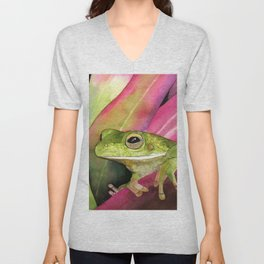 Blinky Eyes Unisex V-Neck