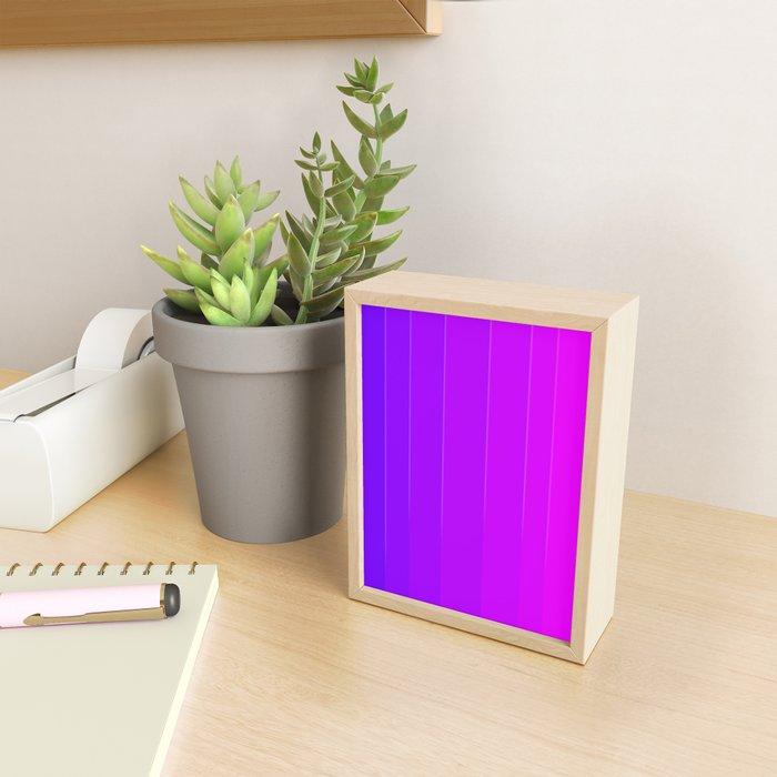 Variety Purple Framed Mini Art Print
