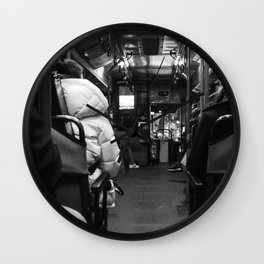 The Back of the Bus Wall Clock