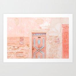 Marrakech Entryway Art Print