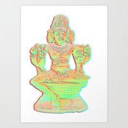 brahma the hindu god Art Print