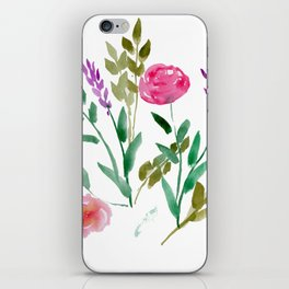 Country Bouquet iPhone Skin