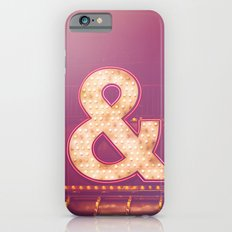 Neon Ampersand Slim Case iPhone 6s