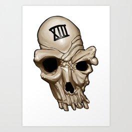 Skull XIII Art Print