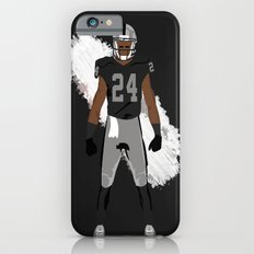 Silver and Black - Charles Woodson Slim Case iPhone 6s
