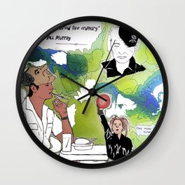Bill Freakin Murray! Wall Clock