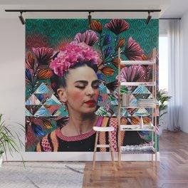 Flowery Frida Wall Mural
