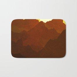Red Mountain Sunrise Bath Mat