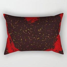 Love is fragile Rectangular Pillow