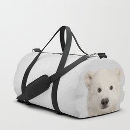 Polar Bear - Colorful Duffle Bag
