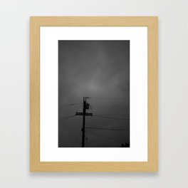 Darkness Framed Art Print