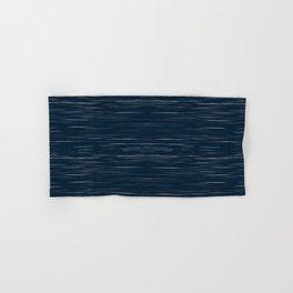 Meteor Stripes - Dark Denim Hand & Bath Towel