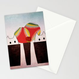 cats 343 Stationery Cards