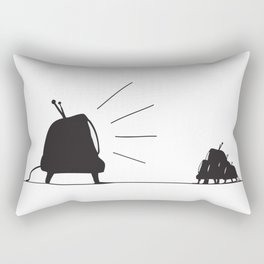 Rules of obedience Rectangular Pillow