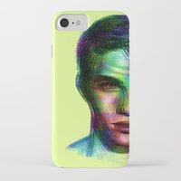 boy iPhone & iPod Cases featuring Boy by Ana Montaño