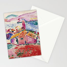 View of Collioure - Henri Matisse - Exhibition Poster Stationery Cards