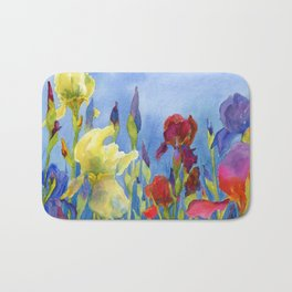 Blue Skies and Happiness Bath Mat