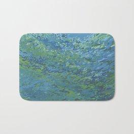 Bright Blue Lagoon Bath Mat