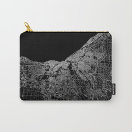 Cleveland map Ohio Carry-All Pouch