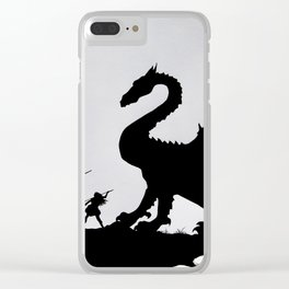 The Paladin Clear iPhone Case