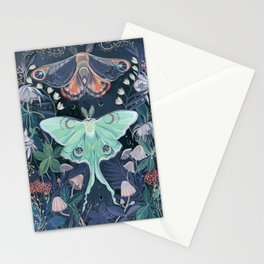 Luna Moth Stationery Cards