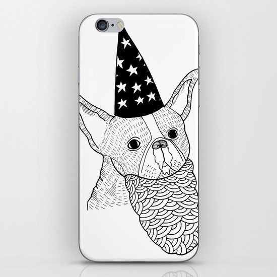 Dog Wizard iPhone & iPod Skin