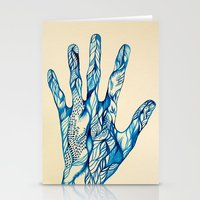 indigo Stationery Cards featuring Indigo by Nieves