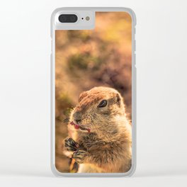I wasn't going to eat it, I was just going to taste it Clear iPhone Case