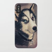 archer iPhone & iPod Cases featuring Archer by pandatails