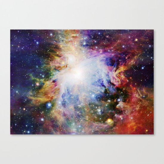 Rainbow Orion NEBulA Canvas Print