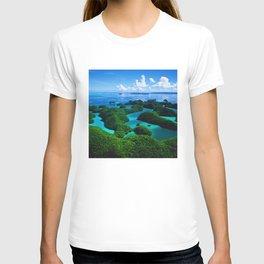 Palau Islands' Tropical Paradise T-shirt