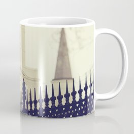 St Louis Cathedral through the trees Coffee Mug