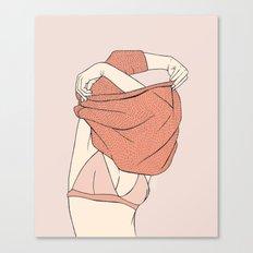 Sweater Struggles Canvas Print