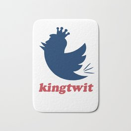 kingtwit. trump 2016 Bath Mat