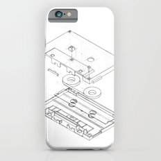 Exploded Cassette Tape  Slim Case iPhone 6s