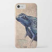 frog iPhone & iPod Cases featuring Frog by Werk of Art