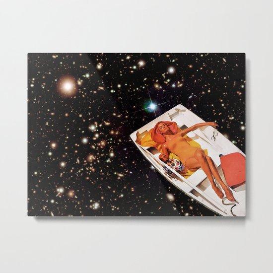 Cosmic Float 2 Metal Print