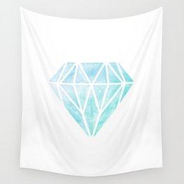 Diamond watercolour Wall Tapestry