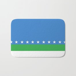 San Jose city flag costa rica country symbol Bath Mat