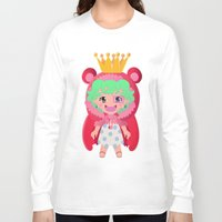 one piece Long Sleeve T-shirts featuring Sugar from one piece by Dama Chan