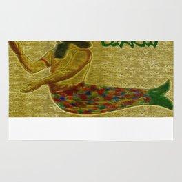 Mesopotamian  God Dagon Rug