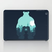 monsters inc iPad Cases featuring Welcome To Monsters, Inc. by filiskun