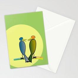 He Said, She Said Stationery Cards