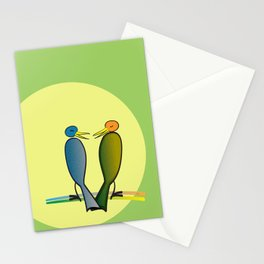 He Said, She Said Stationery Cards