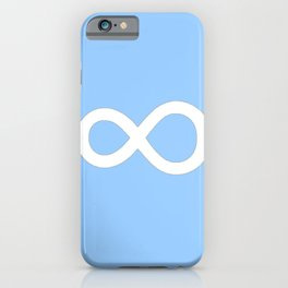 symbol of infinity 2 iPhone Case