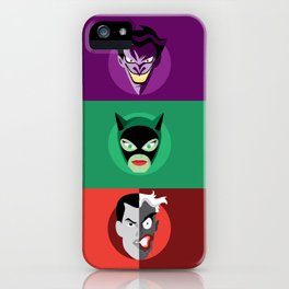 Villains iPhone Case