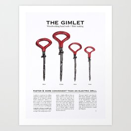 The Gimlet Art Print