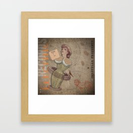 HMK: K9¢ Framed Art Print